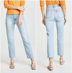 Madewell Perfect Summer Jean High Rise Light Wash